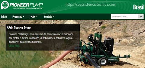Download de manuais Pioneer Pump